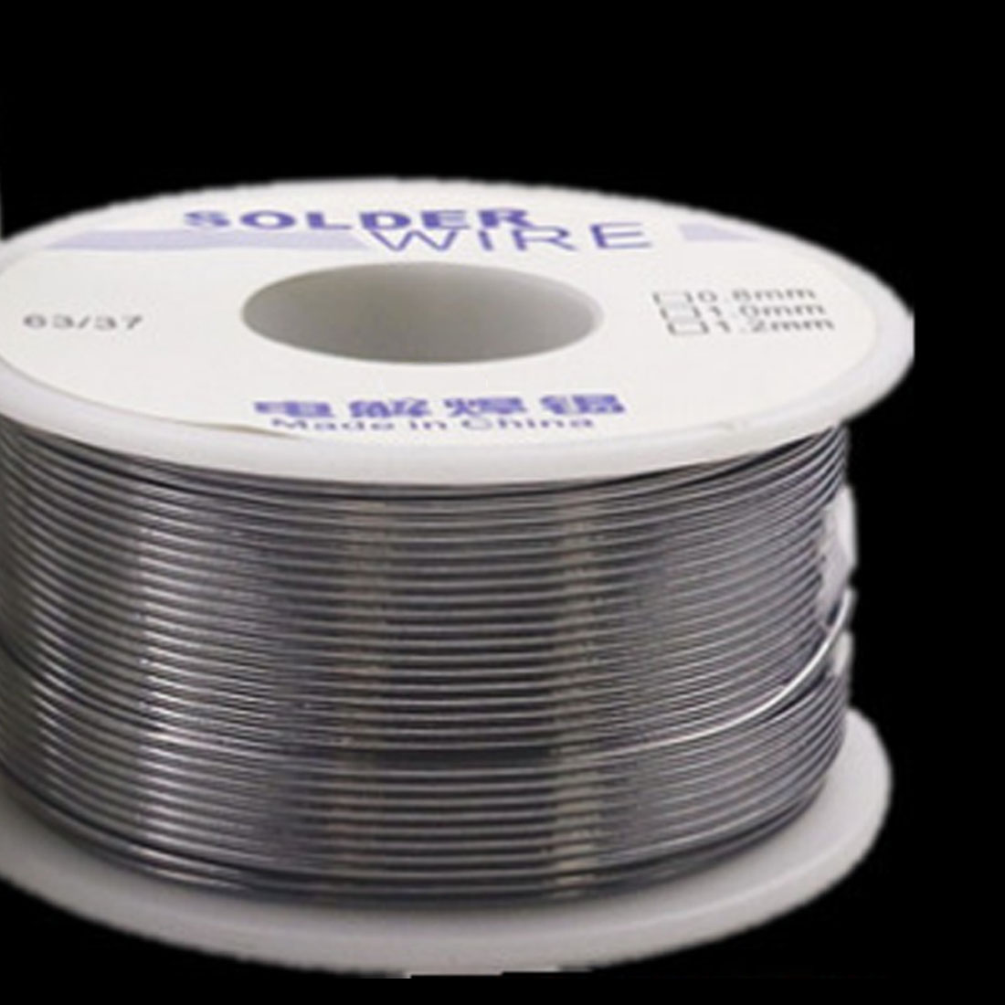 Industrial Solder Wire 63/37 50g 1.0mm/0.8mm 2.0-2.3 % Flux Rosin Core Weldring Tin Lead Iron Wire Reel Soldering Tools
