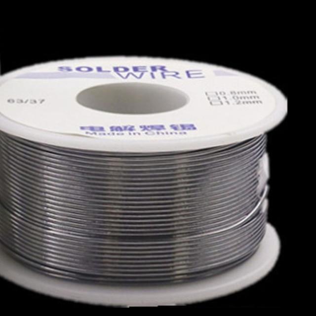 Industrial Solder Wire 63/37 50g 1.0mm/0.8mm 2.0-2.3 % Flux Rosin Core Weldring Tin Lead