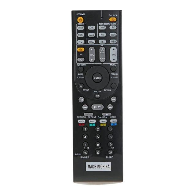 US $10 36 | Remote Control RC 799M Replacement AV receiver remote for ONKYO  TX NR616 TX NR626 HT S5400 HT S5500 AV Receiver -in Remote Controls from