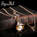 Special New Fashion Gold-plated Pearl Necklaces & Pendants Luxurious Long Vintage Statement Jewelry Gifts for Women S1606N