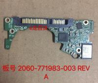 HDD PCB Logic Board Printed Circuit Board 2060 771983 003 REV A P1 P2 For WD
