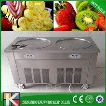CE rolling fried ice cream/ flat pan fried ice cream machine/ thai fried ice cream machine