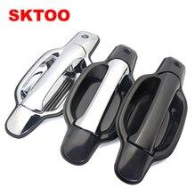 SKTOO 4pcs For Great Wall Wingle 3 / 5 door handle four doors Door Handles