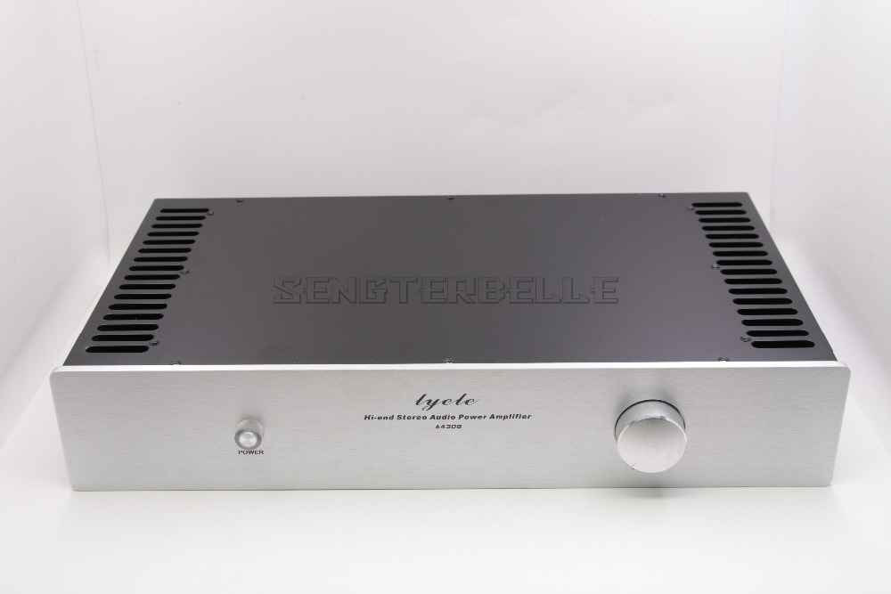 Class A Amplifier Chassis Enclosure / Preamp Case/ DIY Box /Both Sides Radiator Chassis  430*238*80mm 3206 amplifier aluminum rounded chassis preamplifier dac amp case decoder tube amp enclosure box 320 76 250mm