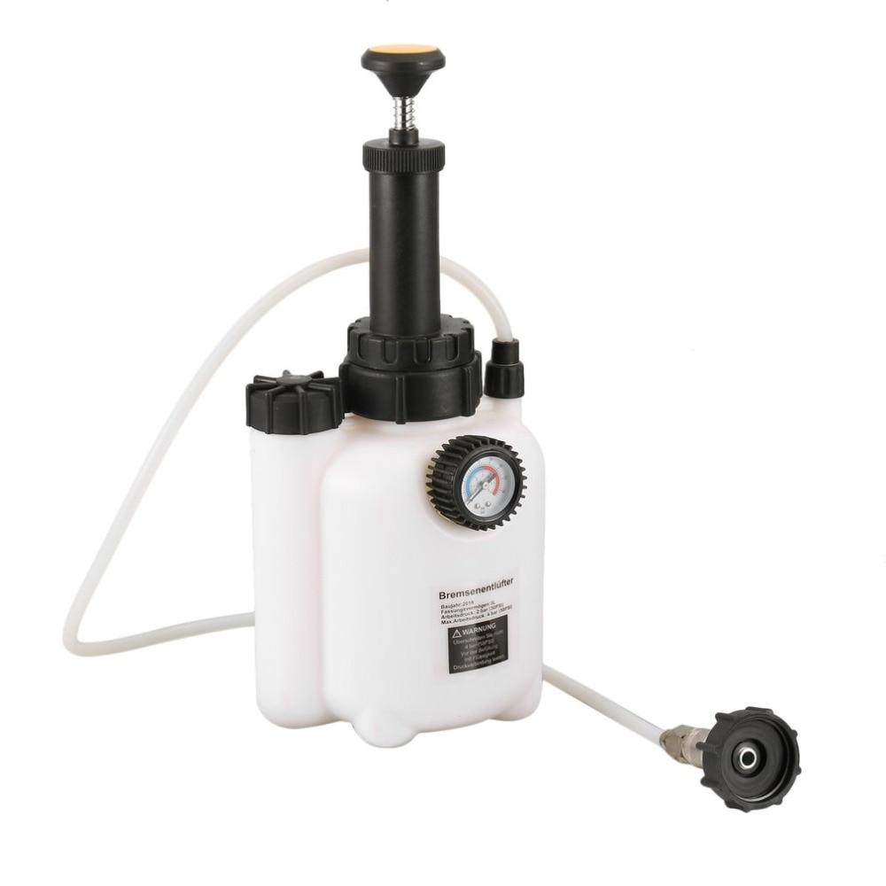 90 до 120 фунтов/кв. дюйм один горшок тормозной Bleeder жидкости комплект изменение авто Air работает пневматический тормоза вакуумный инструмент ...