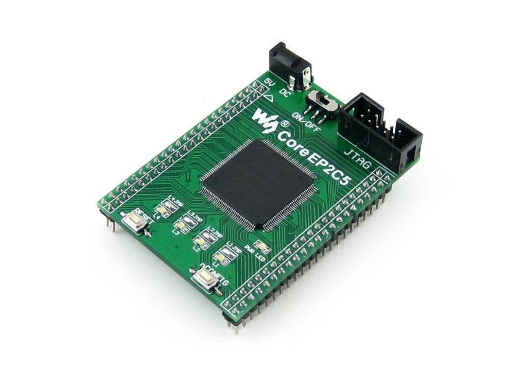 Altera Cyclone Board EP2C5 EP2C5T144C8N ALTERA Cyclone II FPGA Evaluation Development Core Board with Full IOs=CoreEP2C5 lora performance evaluation board test board