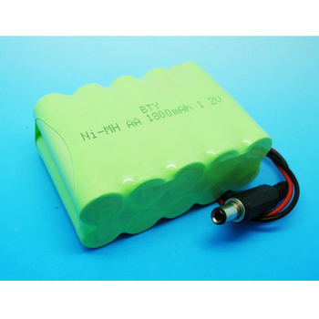 2016 New High Quality 4PCS BTY Ni-MH AA 1800mAH 12v Rechargeable Batteries Battery With Plug For Power Tools Electric Toys