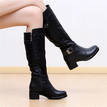 Spring/Autumn Fashion Women Boots Knee High Boots Solid Colors Riding Women Boots For EUR size:35-40