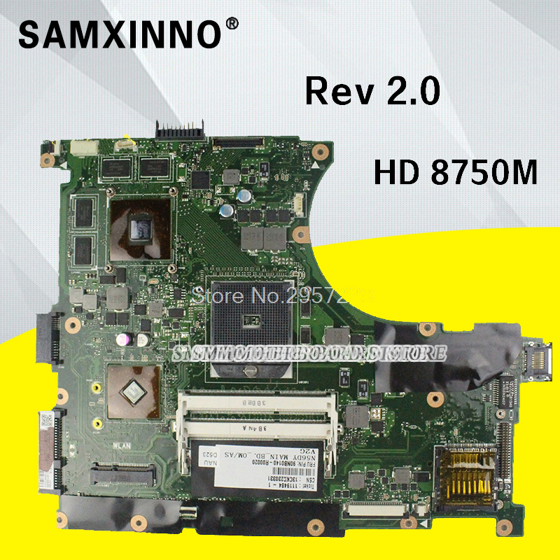 Original for ASUS N56DY Motherboard N56DY N56DP Rev 2.0 Graphic HD 8750M 60-NQOM1002- C03 100% Tested S-6Original for ASUS N56DY Motherboard N56DY N56DP Rev 2.0 Graphic HD 8750M 60-NQOM1002- C03 100% Tested S-6