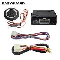 EASYGUARD motor start stop botão DC12V Carro com motor de arranque remoto para carros opcional Interruptor automático entre ACC-ON-OFF