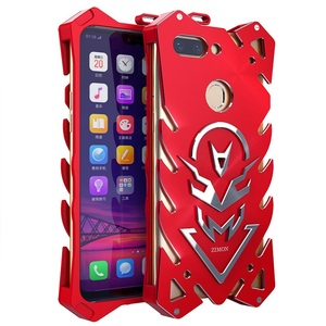Image 5 - OPPO R15 case Metal fundas Rigid neat case for OPPO R15 Powerful Shockproof case for OPPO R15 Zimon heavy duty protection coque