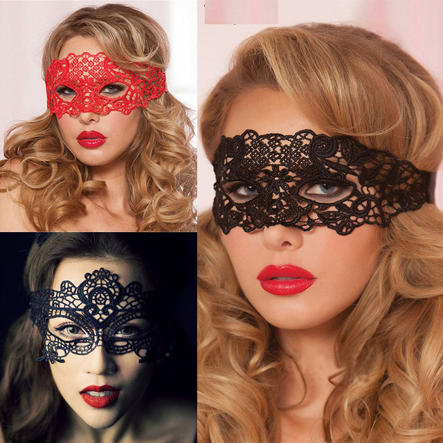 Sexy Hollow Out Babydoll Lingerie Porn Lace Mask Erotic Lingerie Costumes Female Sexy Lingerie Hot Cosplay Party Masks