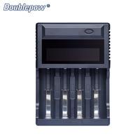 OEM 4 slots LCD USB Multifuncional Carregador de Bateria para AA/AAA Ni-MH/Ni-CD & 26650  18650  16340 Bateria De Lítio Recarregável