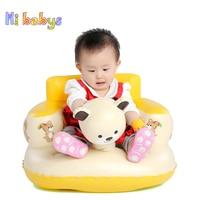 Kids Baby Seat Inflatable Chair Sofa Animal Portable Folding Infant Chair Feeding dining bath Pushchair Seat Sofa Stool 7 Styles