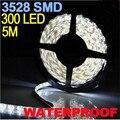 CARPRIE 3528 SMD 300 LED led strip waterproof IP65 Pure White 900LM LED Flexible Light