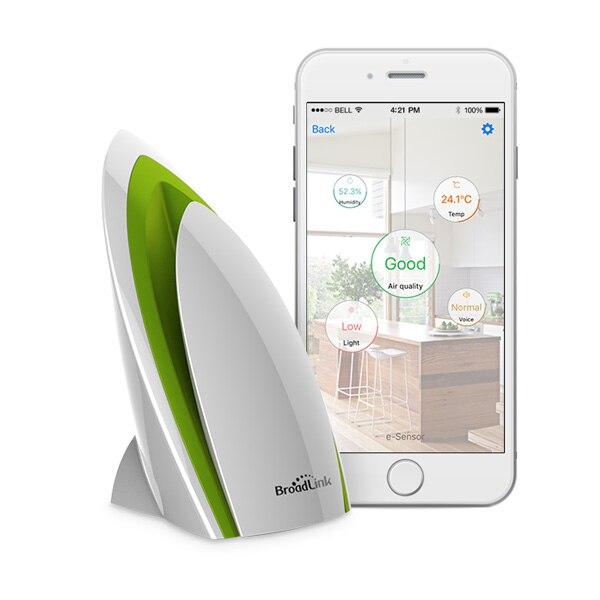 Broadlink A1 Smart Home Electronics E air Air Kwaliteit Detector Intelligente Home Systemen Voor Testen Luchtvochtigheid