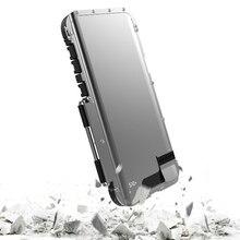 غلاف جلدي قابل للطي مع غطاء مدرع ، جراب ألومنيوم مقاوم للصدمات لهاتف Samsung Galaxy S10 S8 S9 S10 Plus Note 8 9