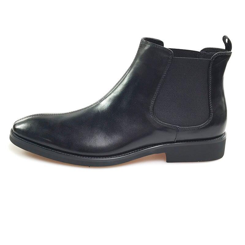 Black Formale Spitz Schwarz Grimentin Echtem Stiefel Business Büro Schuhe Leder Männer 8wxqvExAP