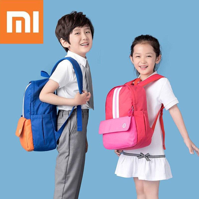 Xiaomi Mijia 8/12L Waterproof Children School B-a-g Baby Back-pack Boy Girl School Bags Gift For Kids Back-packs mochila escolar