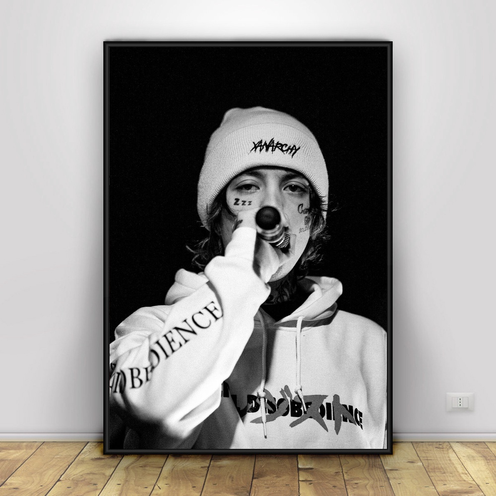 12 X 18 Living Room Ideas: Lil Xan Art Canvas Painting Poster For Living Room