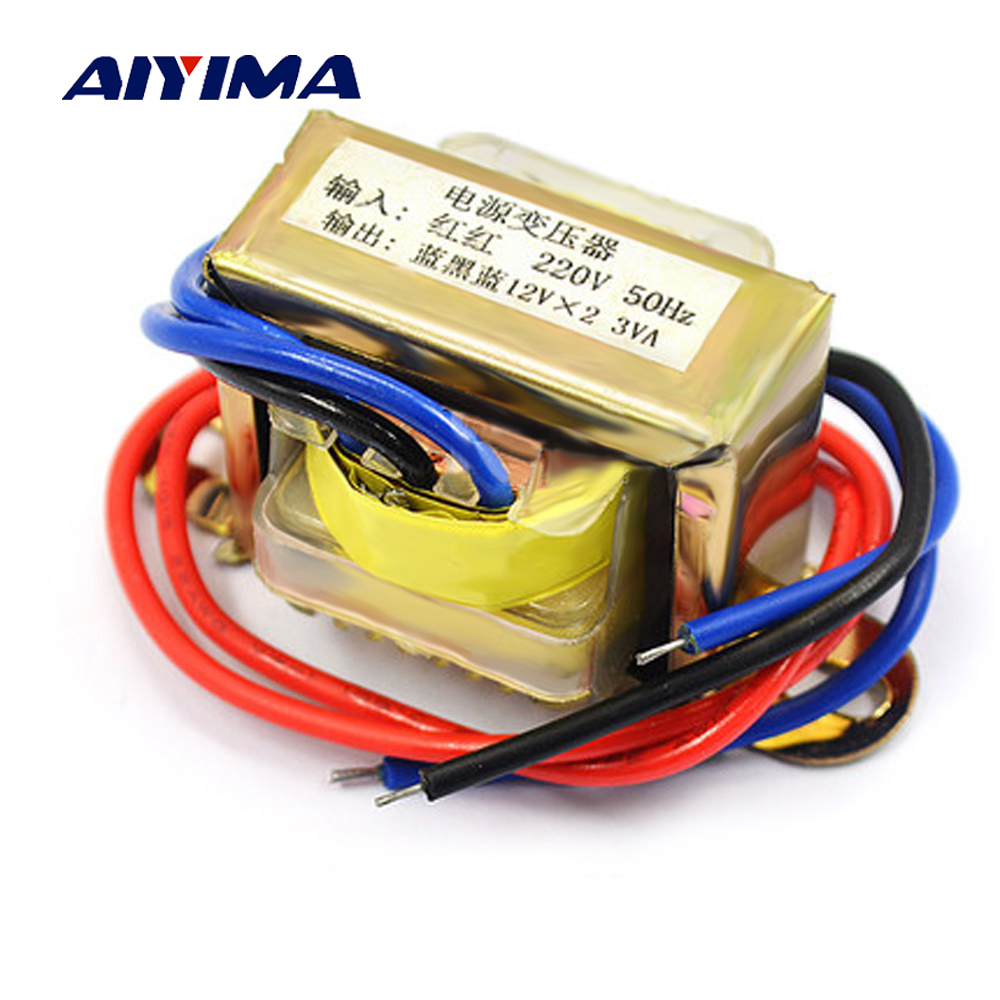 AIYIMA Transformer Dual AC12V Spot Welder Matched 12V Power Supply Transformador 3W Input AC220V 50Hz ConverterAIYIMA Transformer Dual AC12V Spot Welder Matched 12V Power Supply Transformador 3W Input AC220V 50Hz Converter