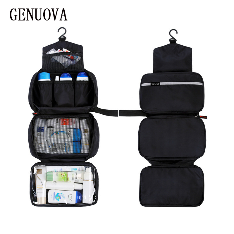 d5f16f9a33d9 New Hanging Toiletry Bag Travel Toiletry Wash Organizer Kit for Men Women  Cosmetics Make Up Sturdy Hanging Hook Shower Bags