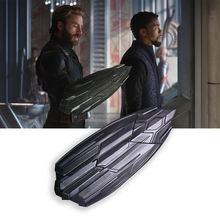 New Movie Avengers 3 Infinity War Captain America New Shield Cosplay Superhero Party Halloween Props movies avengers infinity war 1 1 life size superhero captain america shield leather belts plastic action figure toy d308