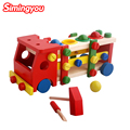 Simingyou Montessori Wooden Toys Montessori Montessori Wooden Toys Disassembly Assemble The Nut Mix Children Toys MGQ6