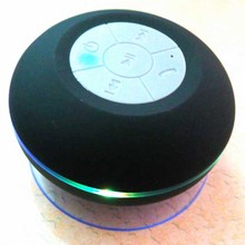 Mini Portable IPX4 Shower Waterproof Wireless Bluetooth Speaker Subwoofer Car Handsfreee Receive Call Sucker Mic For IOS/Android