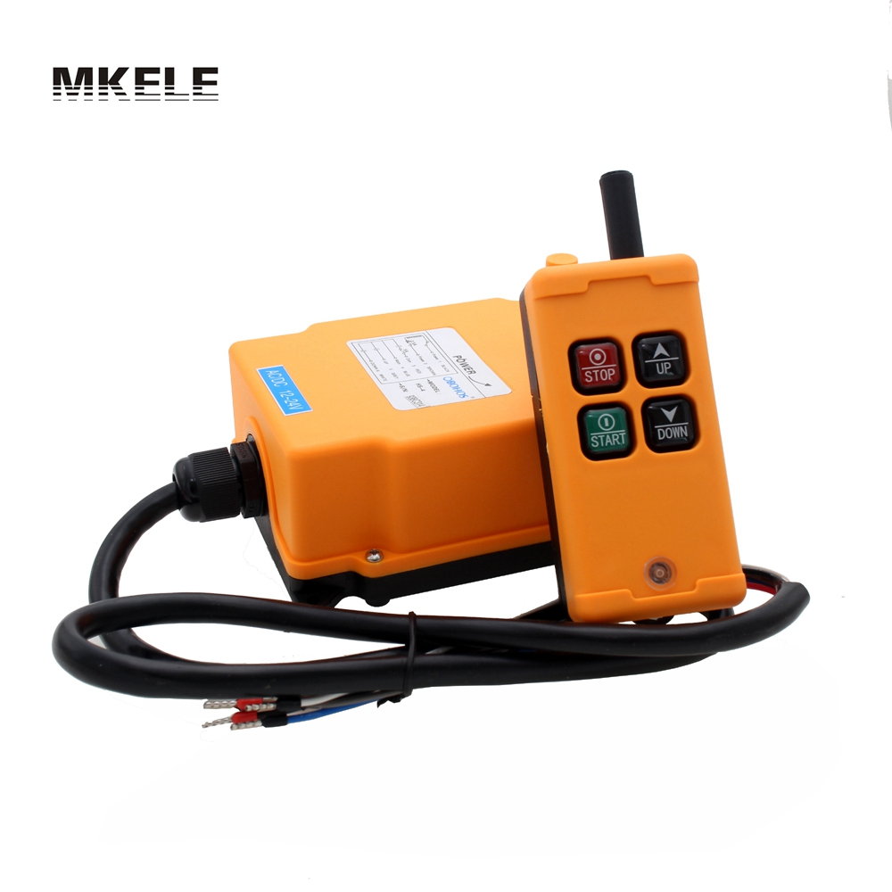 High Quality New Arrivals Crane Industrial Remote Control HS-4 Wireless Transmitter Push Button Switch China hs 10s crane industrial remote control switch hs 10s wireless transmitter switch