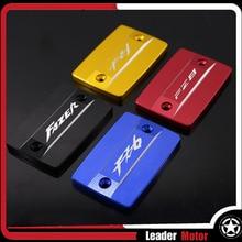 For YAMAHA FZ8 FAZER 2010-2014 FZ6 FZ6N FZ6S FZ6R 2004-2015 FZ1 2006-2015 Motorcycle Front Brake Fluid Reservoir Cap Cover