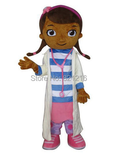 Doc McStuffins mascot costume Adult Mascot Costume Cosplay Costume for Halloween party event