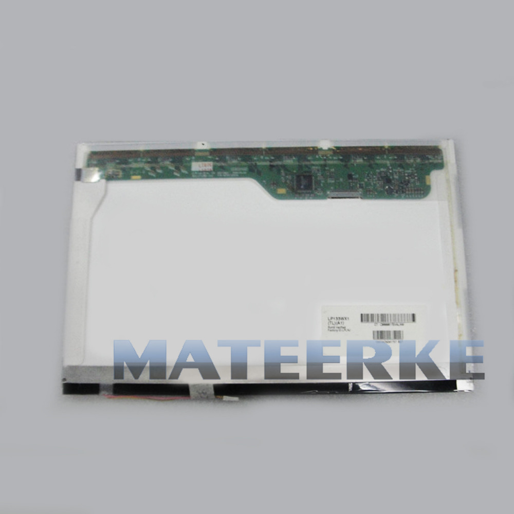 Laptop 13.3inch LCD Screen CCFL Replacement FOR Samsung LTN133AT07-G01 B133EW01 LP133WX1 TLA1,Free shipping  цена