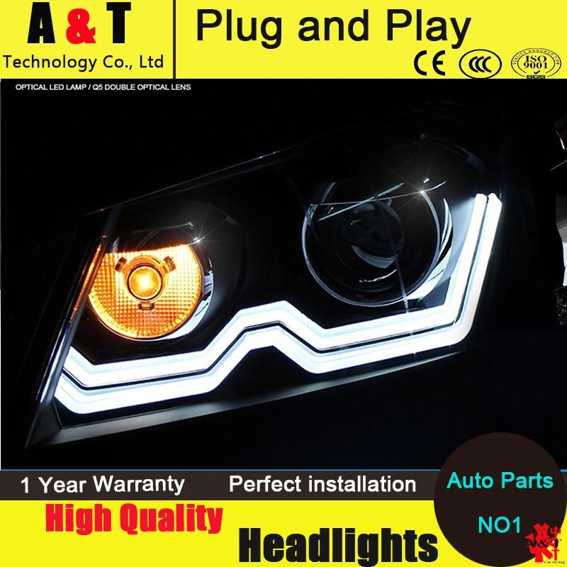 Car Styling For VW Passat B7 headlight assembly 2011-2014 Europe Version Volks Wagen Passat headlight drl H7 hid kit with 2pcs. коврик в багажник vw passat b7 2011