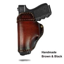 Cow Leather Pistol holster protective cover General suitable for all kinds of guns