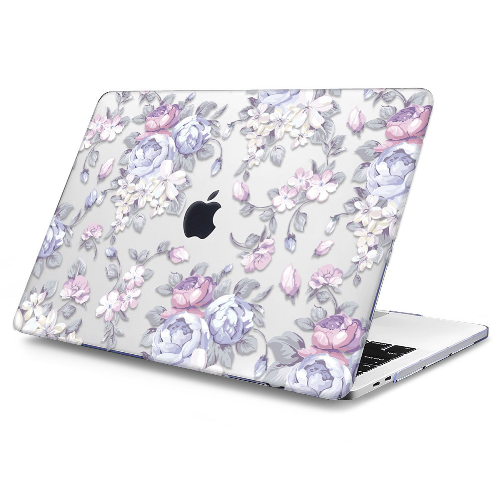 Floral Printing Hard Case for MacBook 124