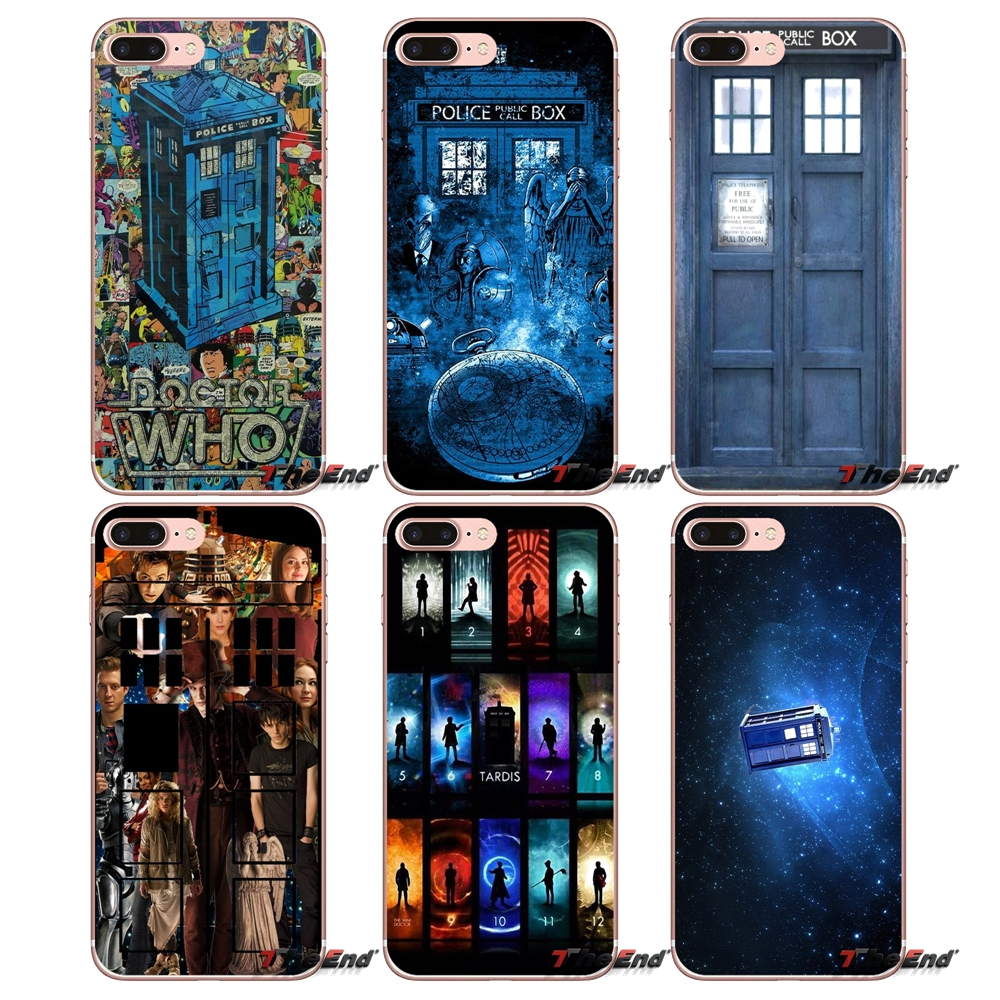 Binyeae Tardis Box Doctor Who Hard Case Cover For Huawei Y6 Y3 Y9 Y7 2018 Honor 10 9 Lite Mini 7s 7c 7a Pro 2017 Durable Service Half-wrapped Case Cellphones & Telecommunications