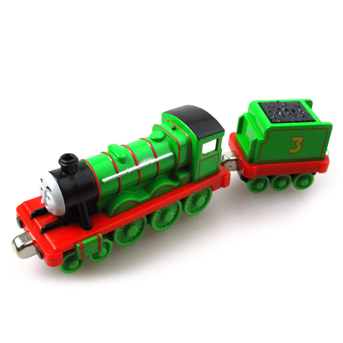 T0116 Diecast THOMAS And Friend The Tank Engine Take Along Train Magnetic Metal Kids Toy Henry Truck No Carriage Package In Diecasts Vehicles