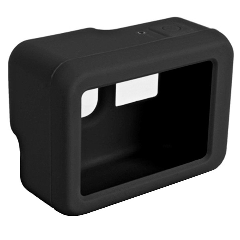 Silicone Protective Case For GoPro Hero 7 5 6 Shell Skin Lens Cap Protector Cover For Go Pro 7 6 5 Action Camera Accessories