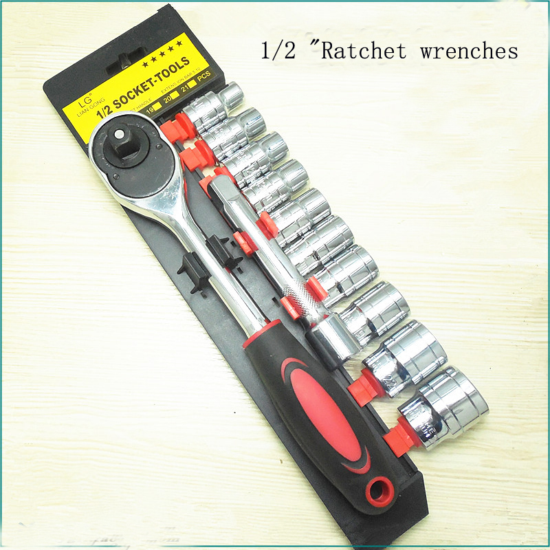 Automotive Tools sleeve suit 12 sets of 1/2