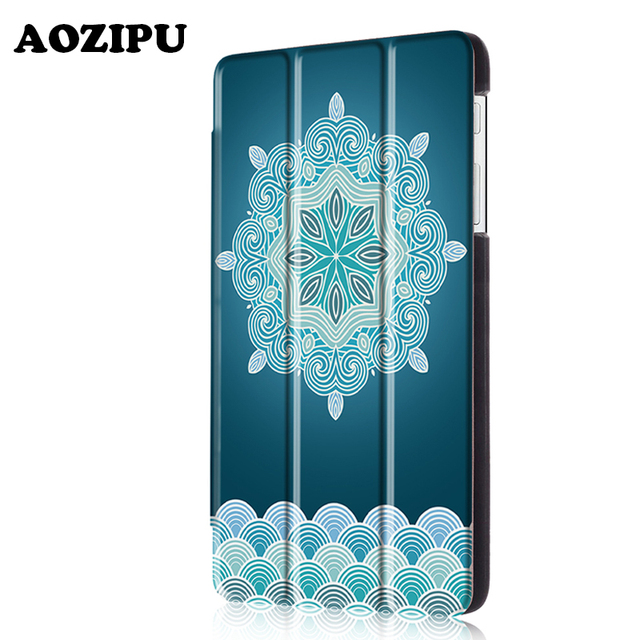 Luxury Magnet Flip Stand Cover PU Leather Funda Case for Huawei MediaPad T1 7.0 T1-701u 7 inch Tablet eReader Protective Case