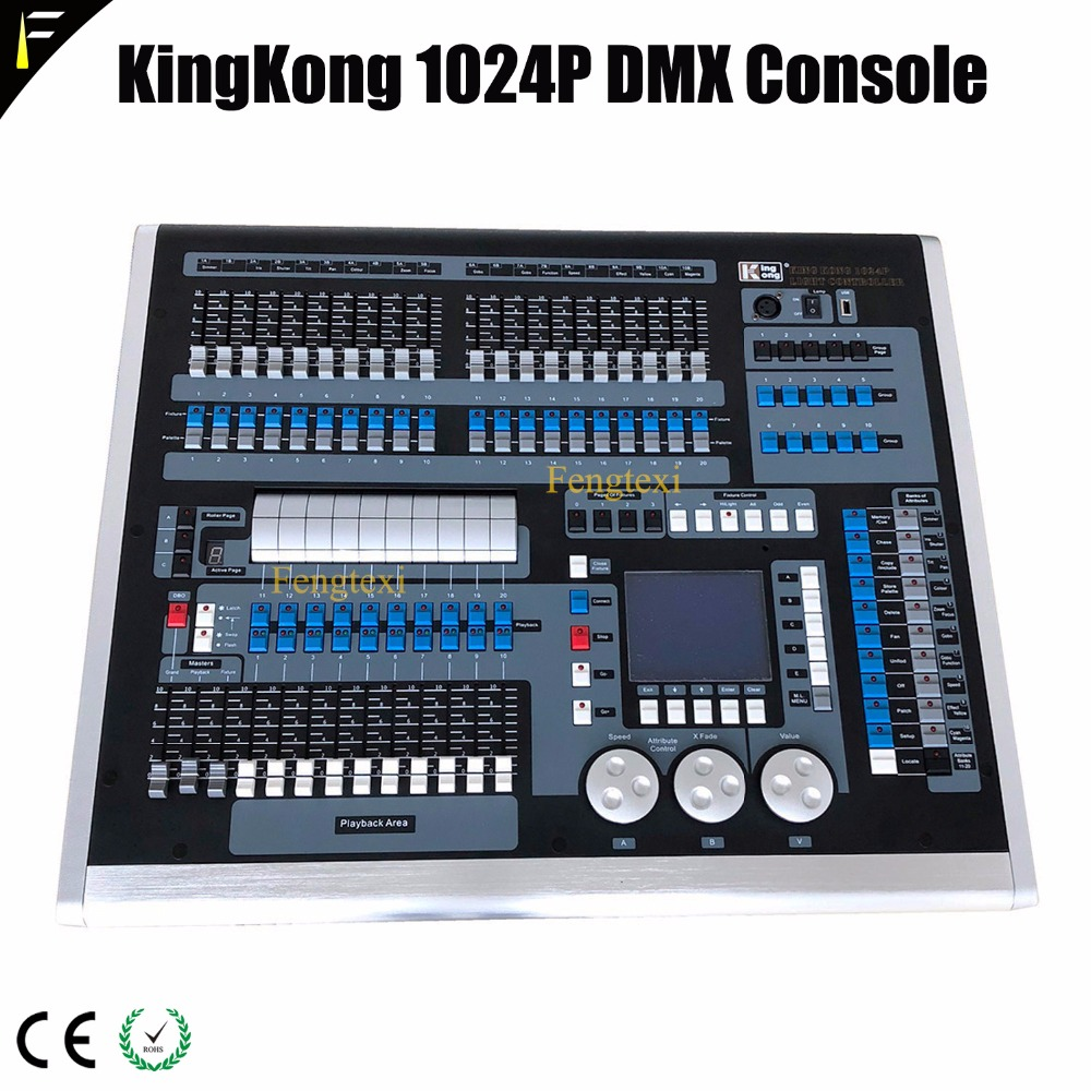 KingKong Creator 1024P Control Stage Computer Light/ Led Moving Head Light Controller Console 1021 Channels