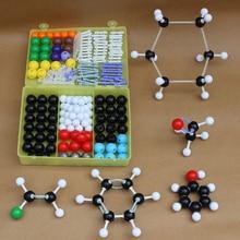 Scientific Inorganic Organic Chemistry Atom Molecular Models Links Kit Set Organic and inorganic molecular models