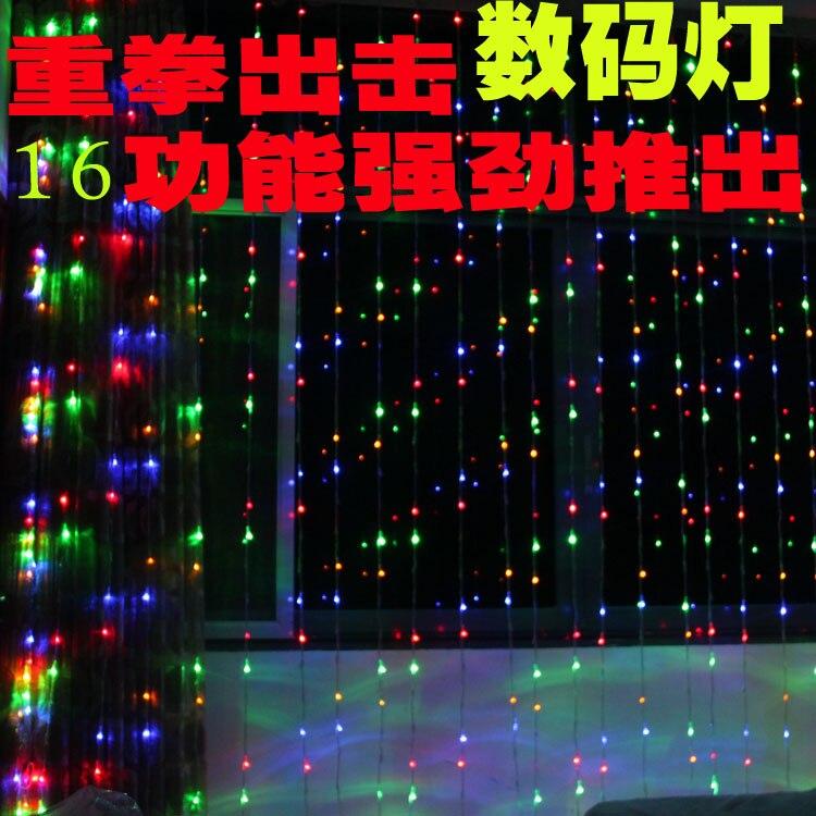 ФОТО New arrival wedding props wedding supplies marriage decoration 3 meters digital light lighting string