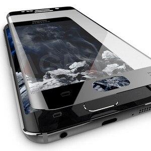 Image 2 - NAGFAK 保護ガラスサムスンギャラクシー S7 S6 エッジ強化スクリーンプロテクター 3D 湾曲したエッジサムスン s7 フィルム
