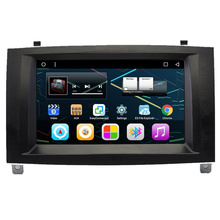 "7 ""Android Auto Радио автомобиля Multimedia Stereo GPS навигации DVD Радио аудио Sat Nav Головное устройство для Peugeot 407 2005 2006 2007 2008"