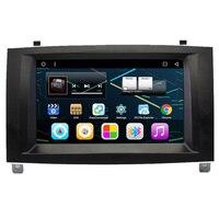 7 Android Autoradio Car Multimedia Stereo GPS Navigation DVD Radio Audio Sat Nav Head Unit for Peugeot 407 2005 2006 2007 2008
