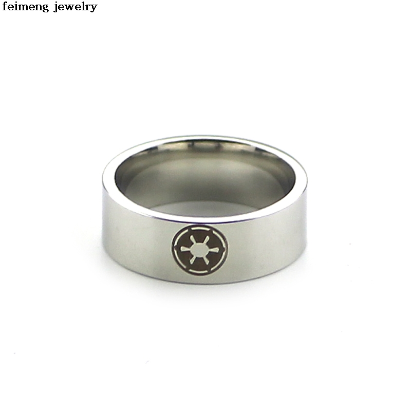 Wholesale 20pc/lot Star wars New fashion design Stainless steel rings men personality ri ...