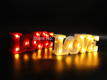 12wide mini White red plastic  LOVE LED Marquee Sign LIGHT UP Adhesive LOVE letter  light  valentine's Day  Indoor Deration 12wide mini white plastic love led marquee sign light up adhesive love letter light valentine s day indoor deration