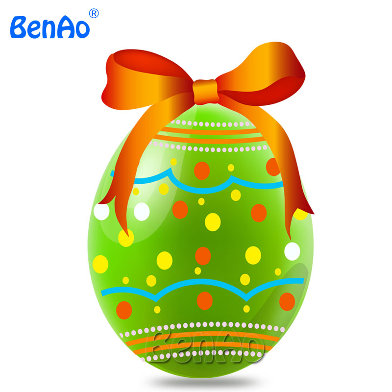 AA059 5 Customized Printing Inflatable Easter Egg Chicken Eggs with bow,Attractive Inflatable Standing colorful Eggs for holiday